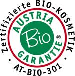 Austria Bio Garantie Siegel für das Naturshampoo vom Tiroler Kräuterhof