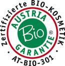 Alle Produkte von Marias Biokosmetik sind nach der Austria Bio Garantie zertifiziert