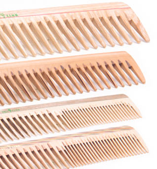 Holzkämme - die richtige Zackenbreite