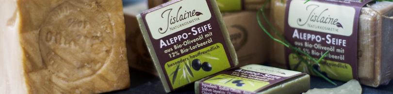Aleppo-Seife aus Syrien
