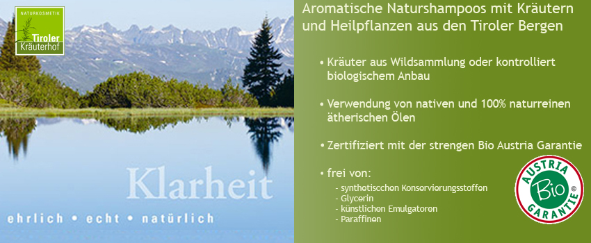 Tiroler Kräuterhof Naturshampoo