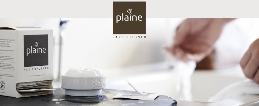 Plaine Rasierpulver